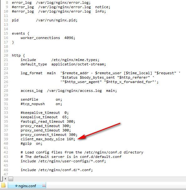 Nginx Error 413 Request Entity Too Large How To Fix Lampdocs Com