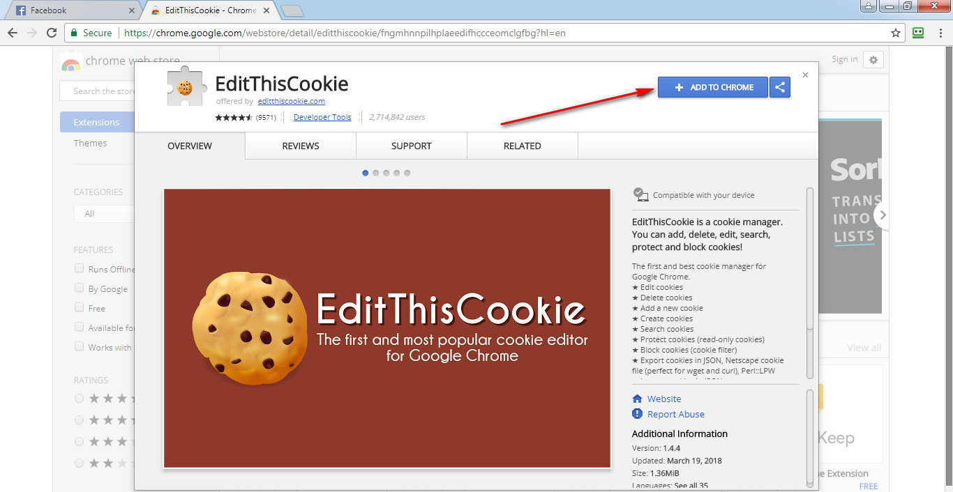 How to Import and Export Cookies with Google Chrome